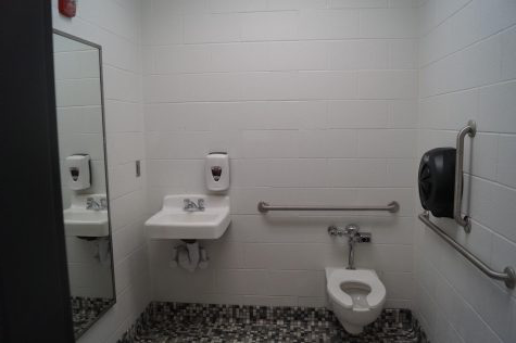 Picture of a school bathroom